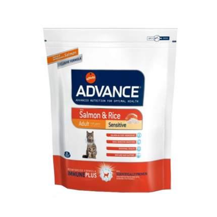 Сухой корм для кошек Advance Sensitive, лосось и рис, 0,4кг