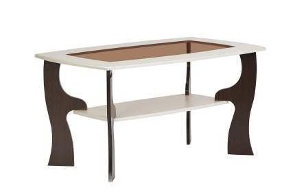 Журнальный столик Hoff Модена 15 80319134 100х60х52,5 см, венге/ясень жемчужный