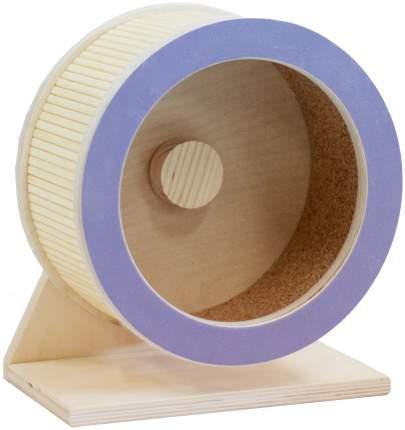 Беговое колесо для грызунов Doradowood деревянное, в ассортименте, 27,5 см
