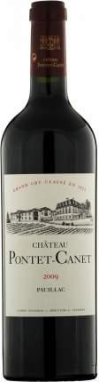 Вино Chateau Pontet-Canet Pauillac AOC 5-me Grand Cru Classe 2009