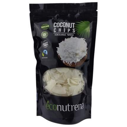 Кокосовые чипсы  Econutrena органические 150 г