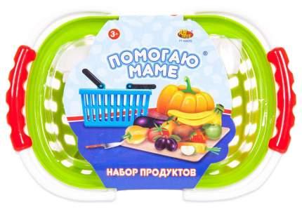 Набор продуктов игрушечный ABtoys Помогаю маме на липучках 17 предметов PT-00469