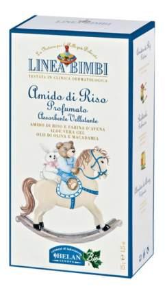 Детская мягкая рисовая присыпка Helan Linea Bimbi 75 гр