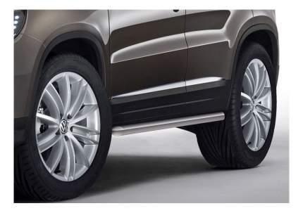 Защита порогов RIVAL для Volkswagen (R.5802.004)