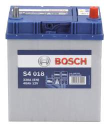 Аккумулятор автомобильный автомобильный Bosch S4 Silver 0 092 S40 180 40 Ач