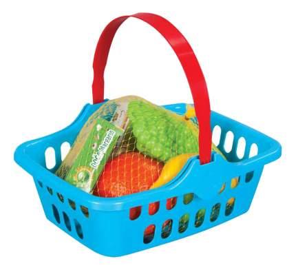 Набор фруктов игрушечный Pilsan Корзина с фруктами
