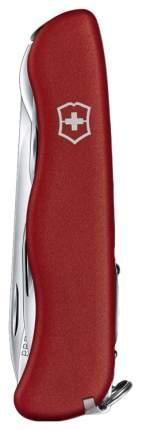 Мультитул Victorinox Picknicker 0.8853 111 мм красный/серебристый, 11 функций