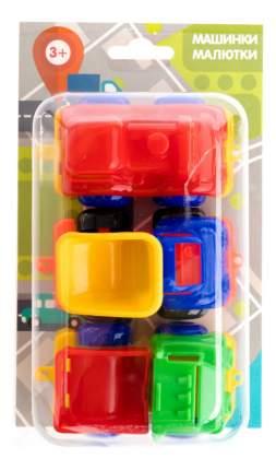 Набор пластиковых машинок Пластмастер Малютка 3 шт.