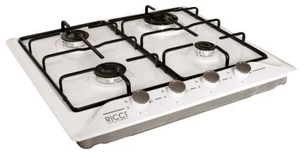 Встраиваемая варочная панель газовая RICCI RGN-610WH White