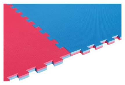 Татами для единоборств DHZ Fitness 25 мм красно-синее