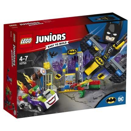 Конструктор LEGO Juniors Нападение Джокера на Бэтпещеру (10753)