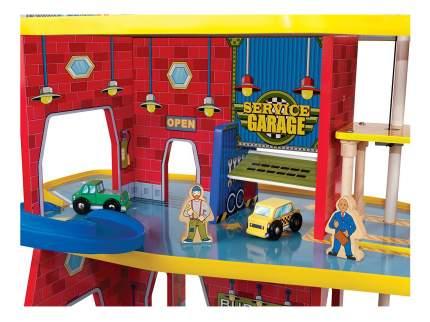 Парковка игрушечная KidKraft Паркинг Duluxe