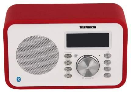 Радио-часы Telefunken TF-1581UB Красный