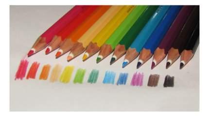 Карандаши цветные 12 шт NorisClub с ч/граф карандашом и ластиком Staedtler