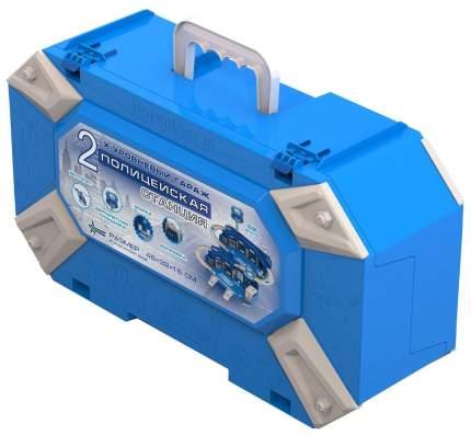 Гараж игрушечный Нордпласт полицейская станция чемодан Р65854