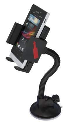 Автомобильный держатель для мобильных устройств, Fly N S 2150 W-A4, Цвет черный.