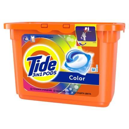 Гель для стирки Tide в растворимых капсулах color 15*24.8 г