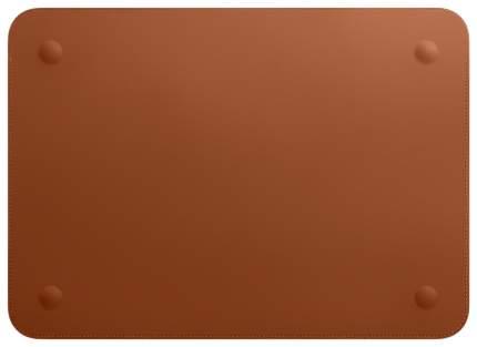 """Чехол для ноутбука 12"""" Apple Leather Sleeve Saddle Brown"""