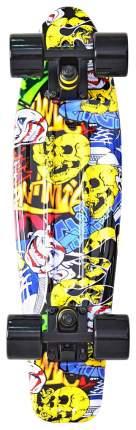 "Скейтборд Y-Scoo Fishskateboard Print 22"" 401G-С с сумкой Cartoon"
