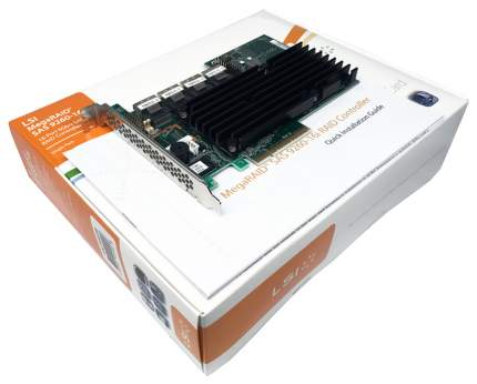 PCI-e RAID контроллер LSI Logic MegaRAID SAS 9260-16i SGL LSI00208