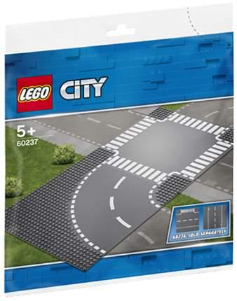 Конструктор LEGO City 60237 Поворот и перекрёсток