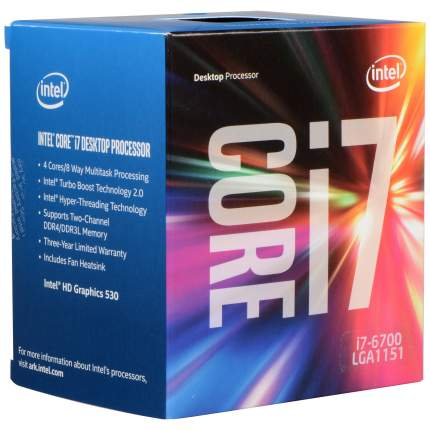 Процессор Intel Core i7 6700K Box