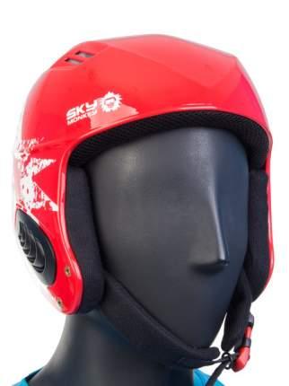 Горнолыжный шлем Sky Monkey VS670 2019, красный, L