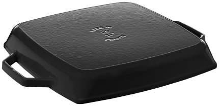 Сковорода-гриль квадратная Zwilling c 2 ручками, 28х28 см, черная