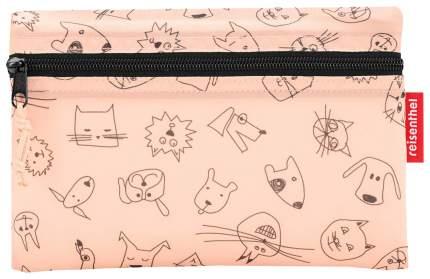 Сумка детская складная dufflebag cats and dogs rose Reisenthel для девочек Розовый IH3064