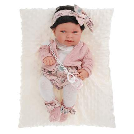 """Кукла-младенец """"Беатриц"""", в розовом (42 см)"""