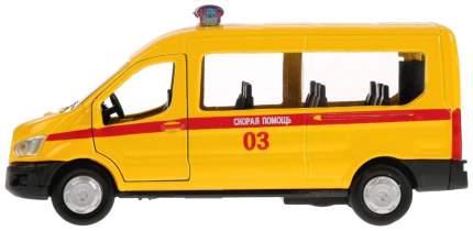 """Машина инерционная """"Ford Transit. Скорая"""", 12 см"""