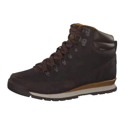 Ботинки The North Face Back-To-Berkeley Redux Leather, chocolate/golden brown, 12 US