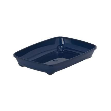 Лоток для кошек MODERNA Arist-o-tray с низким бортом, черничный, 37 х 28 х 6 см