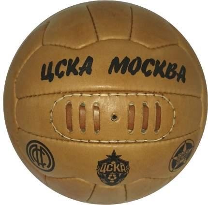 Сувенирный мяч ПФК ЦСКА Москва коричневый