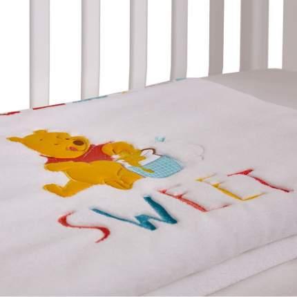 Плед детский Polini kids Disney baby Медвежонок Винни Чудесный день, разноцветный