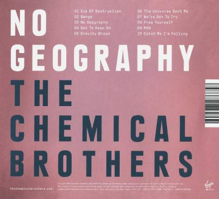 Аудио диск The Chemical Brothers No Geography (CD)