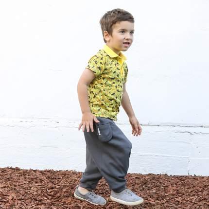 Брюки детские Bambinizon Антрацит ШТ-АНТ р.74 темно-серый