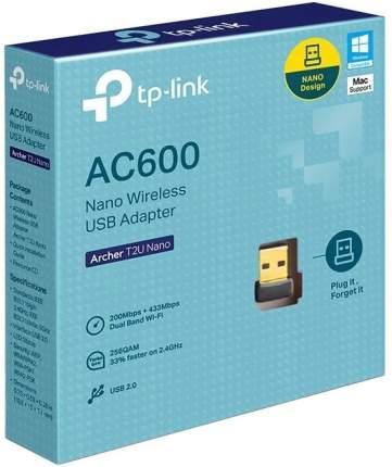 WiFi адаптер TP-LINK Archer T2U NANO