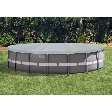 Тент для каркасных бассейнов  intex deluxe, диаметр 549 см, арт, 28041, Интекс