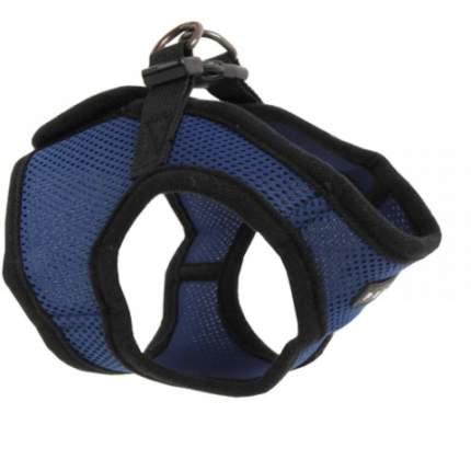 """Шлейка для собак PUPPIA """"Soft Vest"""", синяя, размер L"""