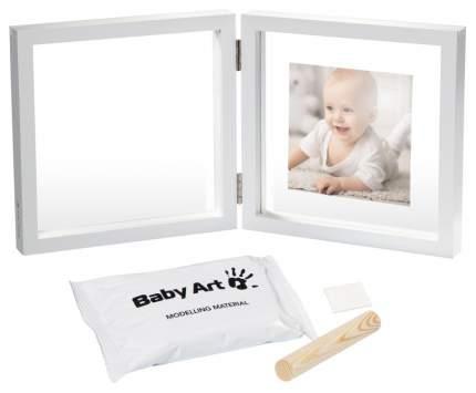 Фоторамка Baby Art двойная прозрачная Baby style с отпечатком краской