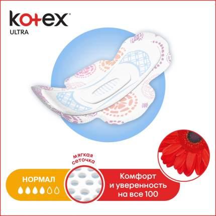 Kotex прокладки ультра сетч нормал, 20 шт.