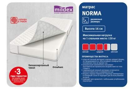 Анатомический матрас Mildex Norma 90x200 см