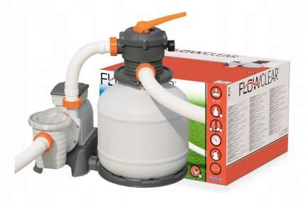Bestway, Песочный фильтр-насос 7751л/ч, резервуар для песка 20кг, 58499 BW