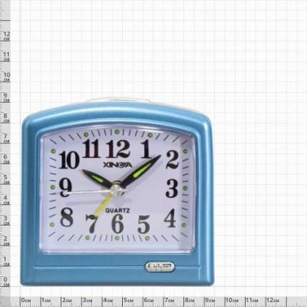 Часы-будильник VT Часы будильник настольные голубые 4501054 4501054