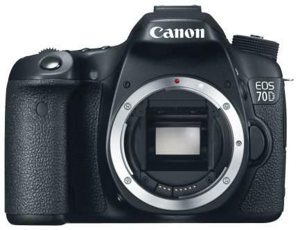 Фотоаппарат цифровой зеркальный Canon EOS 70D Body Black