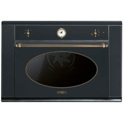 Встраиваемый электрический духовой шкаф Smeg S890MFAO Black