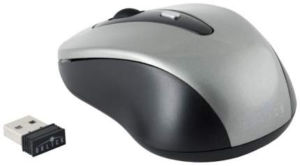 Беспроводная мышь OKLICK 435MW Grey/Black