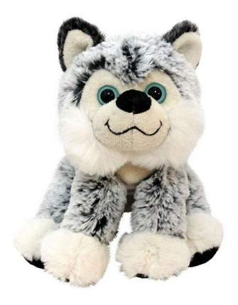 Мягкая игрушка Button Blue Пес Хаски сидячий18 см
