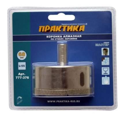Алмазная коронка по керамограниту/стеклу для дрелей, шуруповертов Практика 777-376